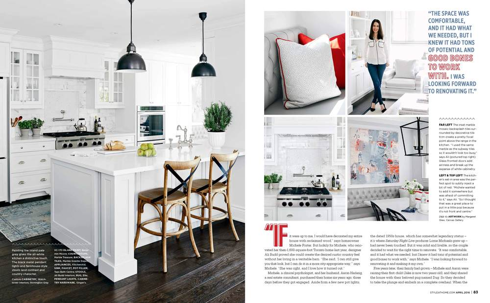 Style at Home article page 3&4
